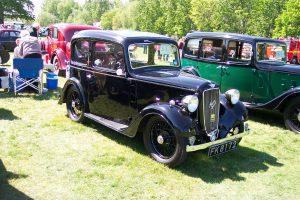 Austin 7 Ruby  – FK 8172