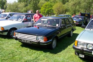 Ford Granada Mk2 Estate  – B 338 NPL