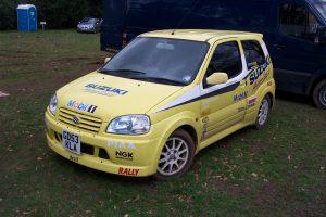 Suzuki Swift Rally Car  – GD 53 KLA