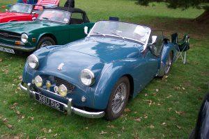 Triumph TR2  – XSU 512