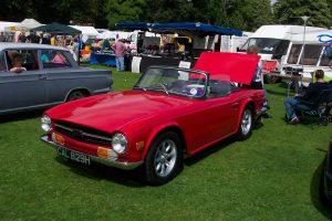 Triumph TR6  – CAL 829 H