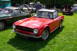 Triumph TR6  – XEU 504 K