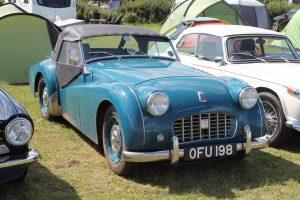 Triumph TR3 – OFU 198