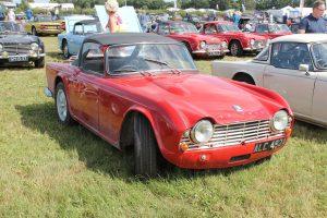 Triumph TR4 – ALC 492 A