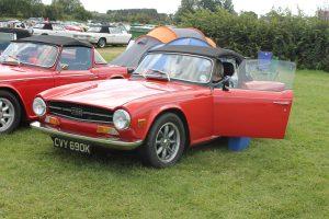 Triumph TR6 – CVY 690 K