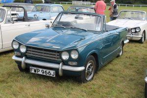 Triumph Vitesse Mk2 Convertible – FWP 966 J