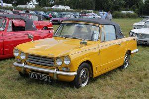 Triumph Vitesse Mk2 Convertible – OVV 756 J