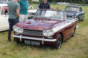 Triumph Vitesse Mk2 Convertible – RDE 833 H