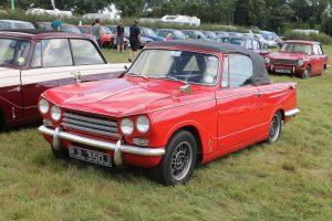 Triumph Vitesse Mk2 Convertible – RJL 350 J