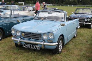 Triumph Vitesse Mk2 Convertible – UNN 497 G