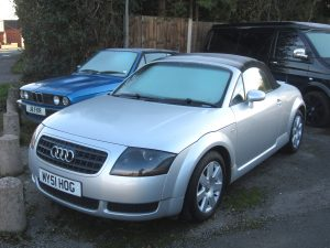 Audi TT Mk1 Convertible – MY 51 HOG