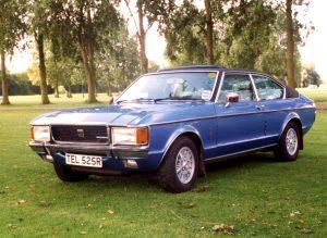 Ford Granada Mk1 Coupe 3.0 Ghia – TEL 525 R