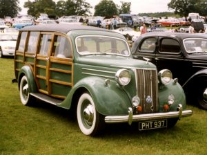 Ford V8 Pilot Woody Estate – PHT 937