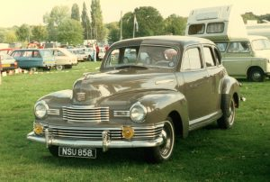 Nash Ambassador Super 4 Door Saloon – NSU 858