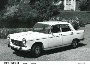 Peugeot 404 Berline Saloon Press Photo