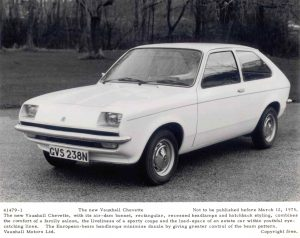 Vauxhall Chevette Press Photo – GVS 238 N