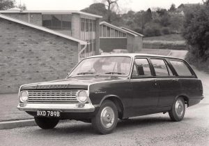 Vauxhall Victor FC 101 Estate Press Photo – BXD 789 B