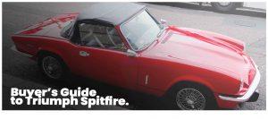 Triumph Spitfire guide