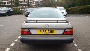 Mercedes Benz (W124) 230CE Coupe – F 186 GWU