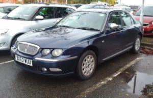 Rover 75 Connoisseur SE CDTI – BX 53 WUU