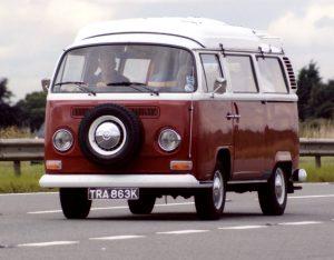 Volkswagen T2 Camper Van – TRA 863 K