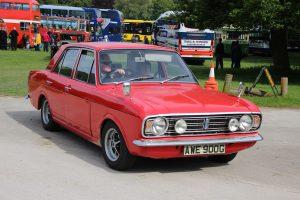 Ford Cortina Mk2 1600E – AWE 900 G (Copyright ERF Mania)