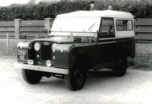 Land Rover Series 2 88 – 2581 NE