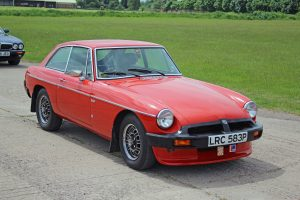 MGB GT V8 – LRC 583 P (Copyright ERF Mania)
