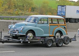 Morris Minor 1000 Traveller – ORK 651 F (Copyright ERF Mania)