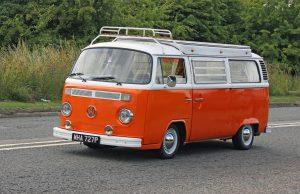Volkswagen T2 Camper Van – MHA 727 P (Copyright ERF Mania)