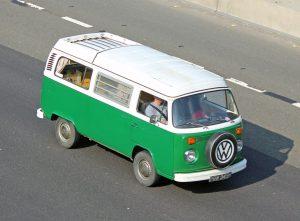 Volkswagen T2 Camper Van – PBW 949 M (Copyright ERF Mania)