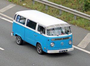 Volkswagen T2 Camper Van – PKE 474 L (Copyright ERF Mania)