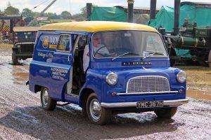 Bedford CA Van – YMC 367 H  (Copyright ERF Mania)