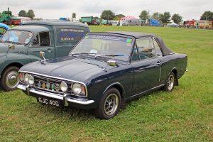 Ford Cortina Mk2 Crayford Convertible – GJC 40 G  (Copyright ERF Mania)