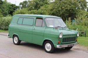 Ford Transit Mk1 Van – XDG 596 J (Copyright ERF Mania)