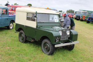 Land Rover Series 1 80 – LXJ 24 (Copyright ERF Mania)