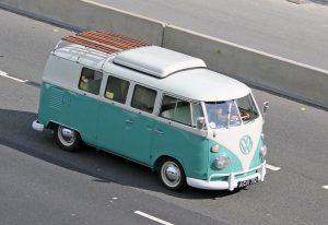 Volkswagen T1 Camper Van – AGN 71 D (Copyright ERF Mania)