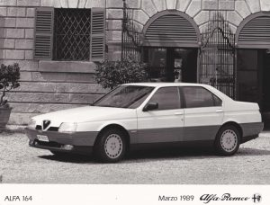 Alfa Romeo 164 Press Photo – MI-7G0023 (Ital)