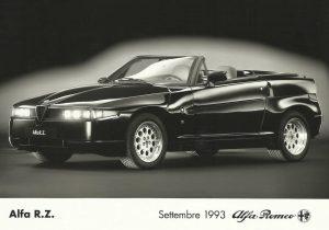 Alfa Romeo RZ Roadster Zagato Press Photo