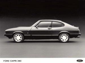 Ford Capri Mk3 280 Press Photo