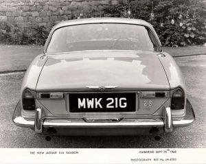 Jaguar XJ6 Mk1 2.8 Press Photo – MWK 21 G