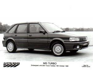 MG Maestro Turbo Press Photo