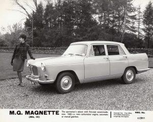 MG Magnette MkIV Press Photo – 386 PFC