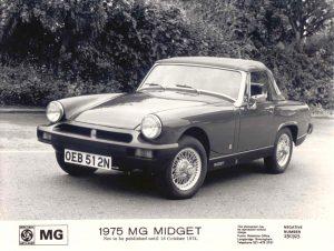 MG Midget 1500 Press Photo – OEB 512 N