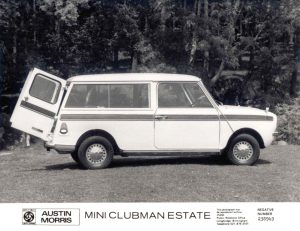 Mini Clubman Estate Press Photo