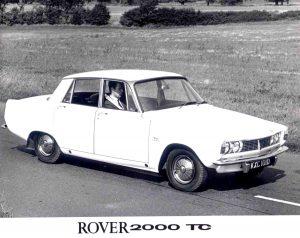 Rover 2000TC Press Photo – KXC 101 D