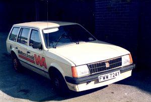Vauxhall Astra Mk1 Estate Car 'Wallace Arnold' – FWW 724 Y