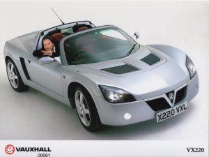 Vauxhall VX220 Press Photo – X 220 VXL