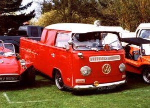 Volkswagen T2 Crew Cab Pick Up – CKN 408 K