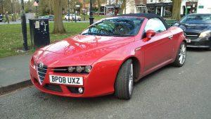 Alfa Romeo JTS Spider 3.0 V6 – BP 08 UXZ